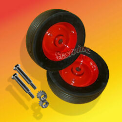 Heavy Duty Steel Deck Wheels Fit Toro Wheelhorse With Bolts And Nuts11-05065305
