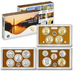 2013-sus Mint 14 Coin Proof Set W/ National Parks And Presidents Ogp