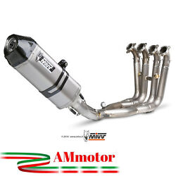 Full Exhaust System Mivv Bmw S 1000 Rr 2012 Speed Edge Steel Motorcycle