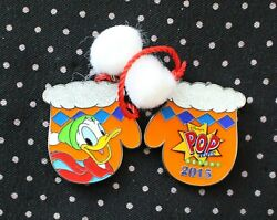 Disney Pin Donald Pop Century Resort Holiday Mittens Limited Edition 1200 Le