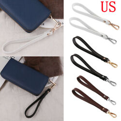 Genuine Leather Buckle Wrist Strap Wristlet Wallets Bag Purse Replacement 8 in $9.87