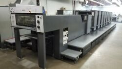 2000 HEIDELBERG SM 74-8P-LX WITH   CP 2000  EIGHT COLOR ALCOLOR DAMPENING AU