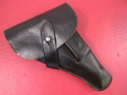 Wwii German Military Black Laminated Paper Holster - Walther Pp Pistol - Rare