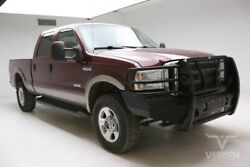 2006 Ford F-250  2006 Tan Leather Hitch Grill Guard V8 Diesel Vernon Auto Group 148k Miles