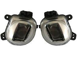 Pair Set Of Front Left And Right Genuine Fog Light Lamp For Bmw F15 X5 To Match 15