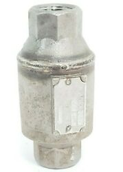 Nicholson Ta503 Thermo Dynamic Steam Trap Size 1/2and039and039 500 Psig/750 Deg. F