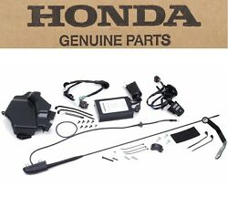 Complete Honda Cb Radio Antenna Switch Kit 18-20 Gl 1800 Gold Wing Dct Only-o241