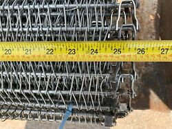24' 304 Stainless Industrial Commercial Kitchen Conveyor Chain Belt 25.75 Wide