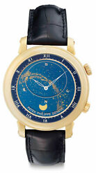 Patek Philippe Celestial Complication 18k Yellow Gold Watch BoxPapers 5102J