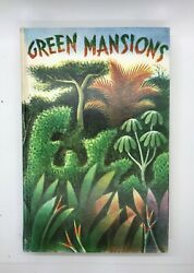 Green Mansions By W. H. Hudson Hardcover, 1944 Heritage Press