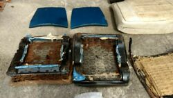 1969 Plymouth Road Runner Front Bucket Seats And Rear Seat. Comes With Tracks