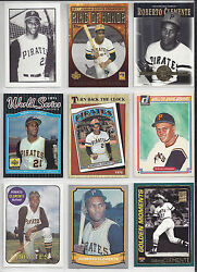 Roberto Clemente Collectors Special 18 Cards + 1989 Beckett + 2 Postcards