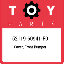 52119-60941-f0 Toyota Cover Front Bumper 5211960941f0 New Genuine Oem Part