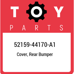52159-44170-a1 Toyota Cover, Rear Bumper 5215944170a1, New Genuine Oem Part