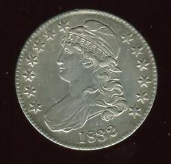 1832 Capped Bust Half Small Letters   Gem Almost Uncirculated   Philly   Cp1972