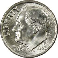 1988 P Roosevelt Dime Bu Uncirculated Mint State 10c Us Coin Collectible