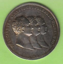 Russia Medal 1813 Alliance With Prussia And Austria Great Rarely Nswleipzig