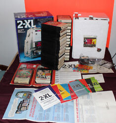 NOS VINTAGE TYPE 2  MEGO TOY 2-XL TALKING ROBOT W 31 8 TRACK TAPES NEW TESTED