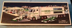 Two 2003 Vintage Hess Trucks In Boxes