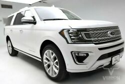2019 Ford Expedition  2019 Navigation Heated Leather 22s Aluminum WiFi Bluetooth V6 Vernon Auto Group