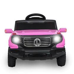 Kids Ride On Car Toys Electric Battery Power 3 Speed Mode W/ Remote Control Pink