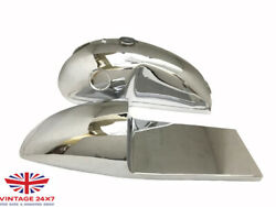 Benelli Mojave Caferacer 260360 Chrome Fuel Tank Seat + Hood Cap And Tap |fit For