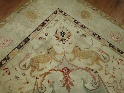 Antique Decorative Indian Amristar Agra Rug 13'1''x16'