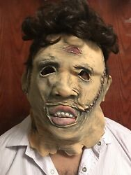 Texas Chainsaw Massacre Remake Mask Leatherface Latex  With Fr͏e͏e Shipping $8.99