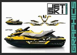 Seadoo Rxt Rxtx Is As Rs 255 260 300 For 2009-2017 Graphics Decals Set Stickers