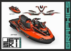 Seadoo Rxt Rxtx Is As Rs 255 260 300 Graphics Set Decal Kit For 2009-2017
