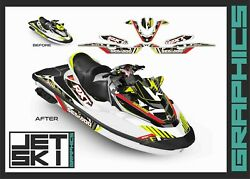 Seadoo Rxt Rxtx Is As Rs 255 260 300 2009-2017 Decals Graphics Stickers Kit