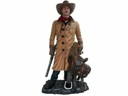 Cowboy Western In Coat Display Life Size Prop Decor Resin Statue
