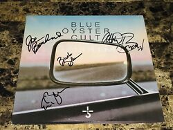 Blue Oyster Cult Rare Signed Vinyl Lp Record Mirrors Classic Rock Free Shipping