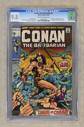 Conan the Barbarian #1 CGC 9.8 1970 1226847002 1st app. Conan
