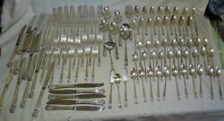 Is 1847 Rogers Usa Eternally Yours 103pc Set Silverplate Flatware