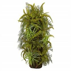 40 Mixed Forest Foliage Artificial Plant on Trunk