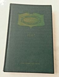 Long Island Ny Real Estate Board Year Book 1943 Embossed Lirr On Cover