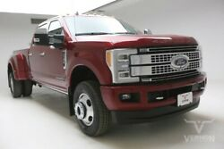 2019 Ford F-350  2019 Navigation Sunroof Heated Leather Bluetooth V8 Diesel Vernon Auto Group