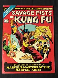 Savage Fists Of Kung Fu 1975 Deluxe Limited Edition 1 Masters Of Martial Arts