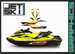 Seadoo Rxt Rxtx Is As Rs 255 260 300 Graphics Stickers Decals Kit For 2009-2017