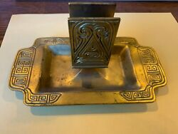 Beautiful Antique Studios 1764 Match Holder/ashtray With Free Shipping