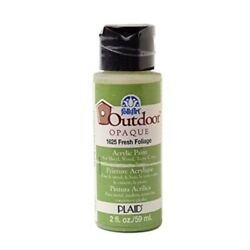 Folkart Outdoor Acrylic Paint In Assorted Colors 2 Ounce 1625 Fresh Foliage