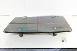 1/8 Thick 20-1/2 Long Tinted Cabin Overhead Entry Poly Hatch Hinged Door