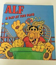 Vintage Alf A Day At The Fair Soft Cover Book 1987 Alien Productions