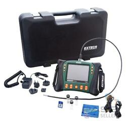 Extech Hdv610 Hd Videoscope + 1m Cable And 5.5mm Diameter Camera Head