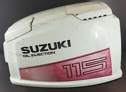 61402-94870-02m Suzuki 1986-1987 Top Cowling Hood Engine Cover Dt 115 140 Hp