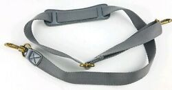 The Sak Gray Silver Replacement Shoulder Crossbody Messenger Strap $17.95