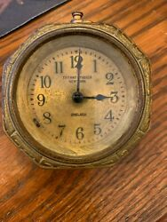Antique Studios New York Chelsea Desk Clock With Free Shipping