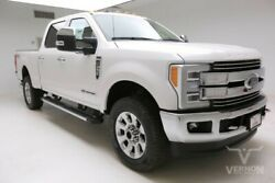 2019 Ford F-250  2019 Navigation Sunroof Heated Leather Bluetooth V8 Diesel Vernon Auto Group