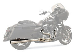 Bassani Road Rage Iii 2-into-1 System Long-megaphone/stainless 1f11ss